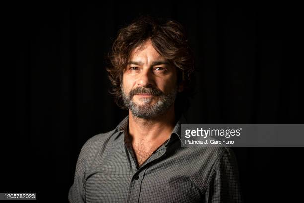 Quique González poses during a portrait session for Efe Eme magazine on September 18 2019 in Madrid Spain