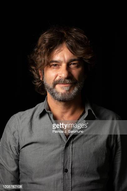 Quique González poses during a portrait session for Efe Eme magazine on September 18, 2019 in Madrid, Spain.