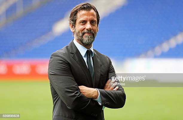 Quique Sanchez Flores new trainer of the RCD Espanyol on june 13 2016