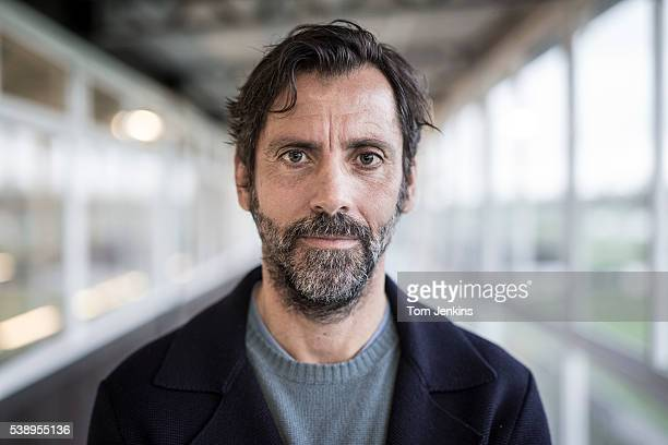 Quique Sanchez Flores the Watford FC manager poses for a portrait at the club's training ground at London Colney on November 18th 2015 in...