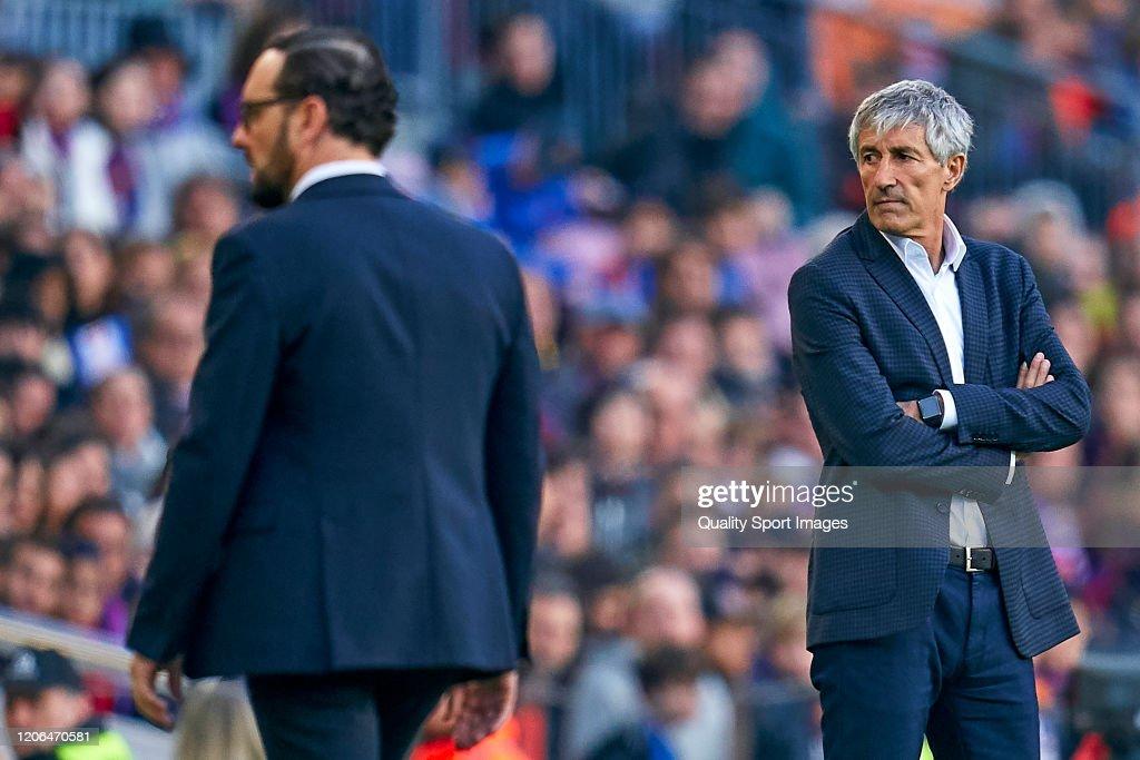 FC Barcelona v Getafe CF  - La Liga : News Photo