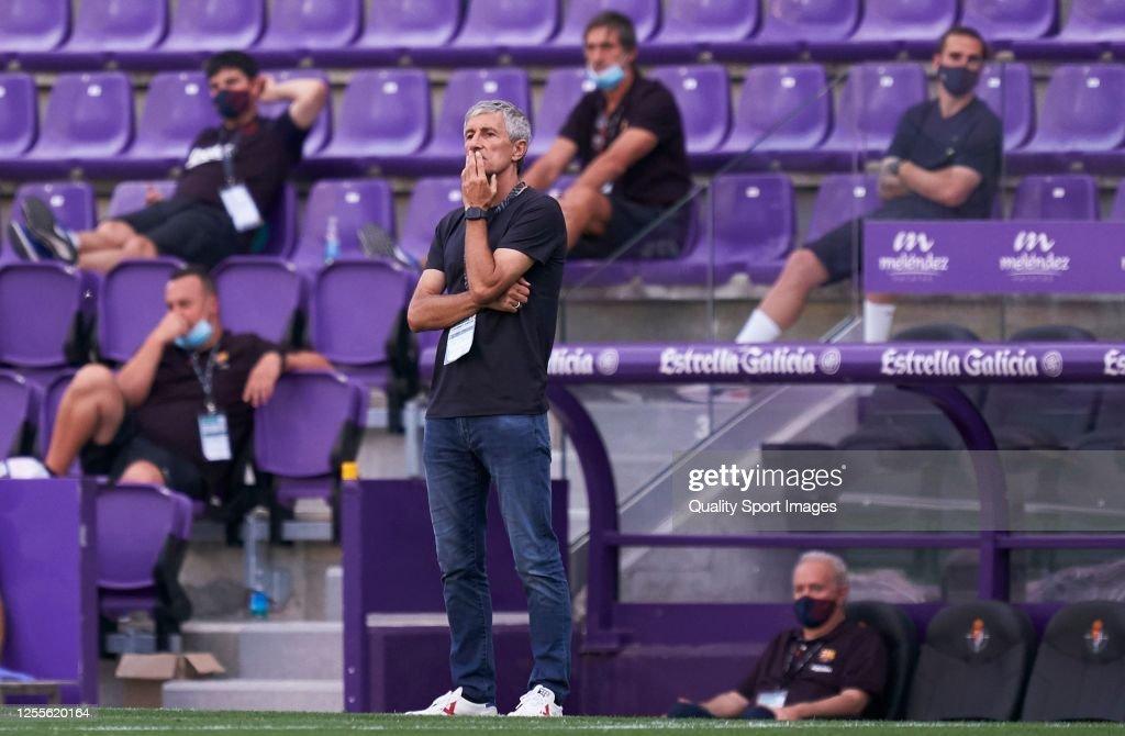 Real Valladolid CF v FC Barcelona  - La Liga : News Photo