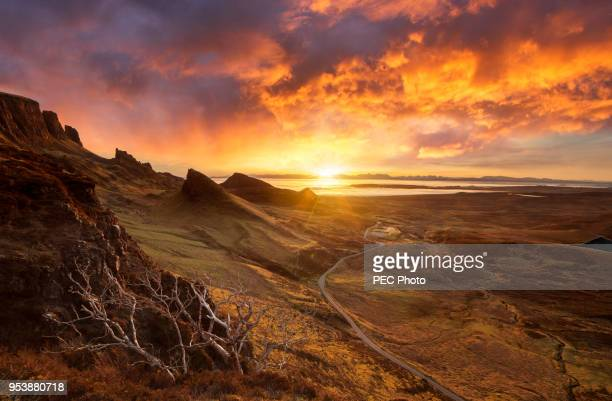 quiraing - scotland stock pictures, royalty-free photos & images