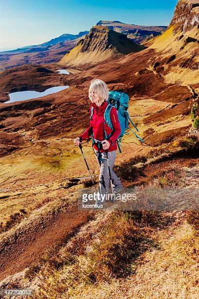 Quiraing Trail, Skye, Schottland