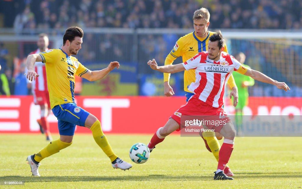 Eintracht Braunschweig v 1. FC Union Berlin - Second Bundesliga
