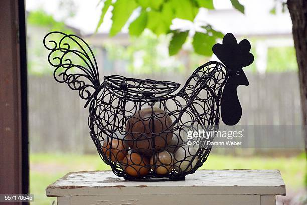 quirky home decor - funny rooster stock photos and pictures