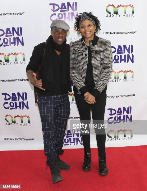 Quis and Joslyn Nyce at Dani Cohn's Single Release Party for #FixYourHeart on December 8 2017 in Burbank California