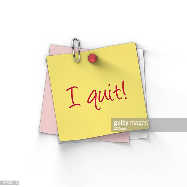 i quit! - quitting a job stock pictures, royalty-free photos & images