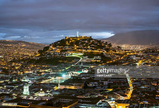 Quito Colonial at night