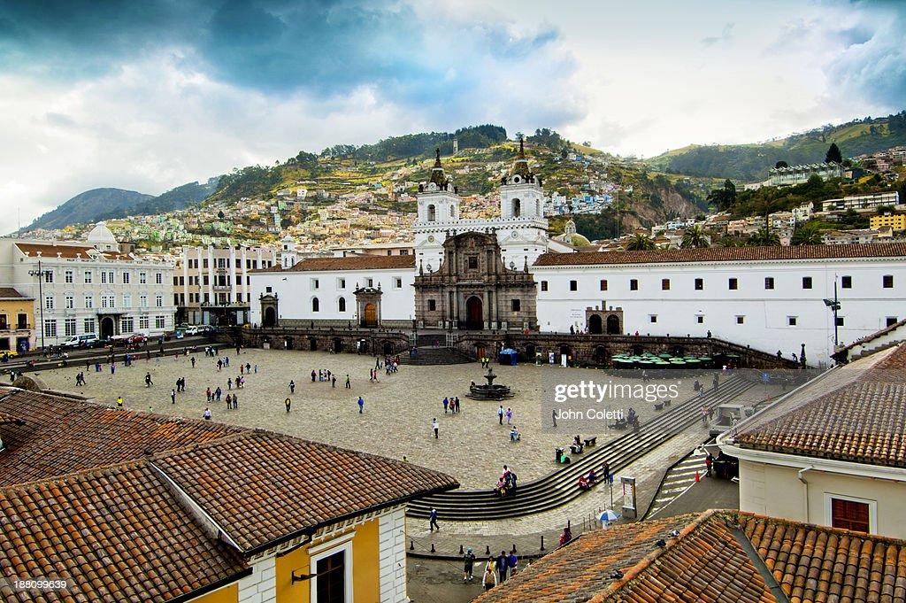 Quito, Ecuador : Stock Photo