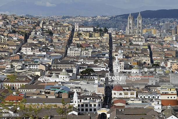 Quito Ecuador The old town area of Quito Ecuador a UNESCO World Heritage site is shown in this file photo taken on Oct 19 2013
