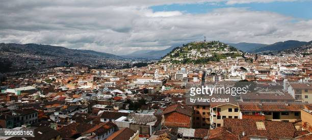 Quito Skyline Panorama, Ecuador