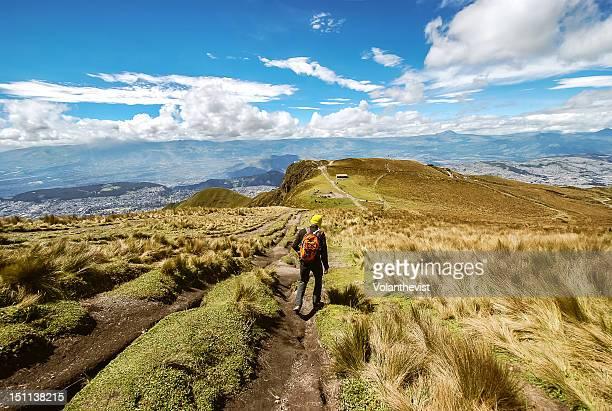 Quito views from Cruz Loma