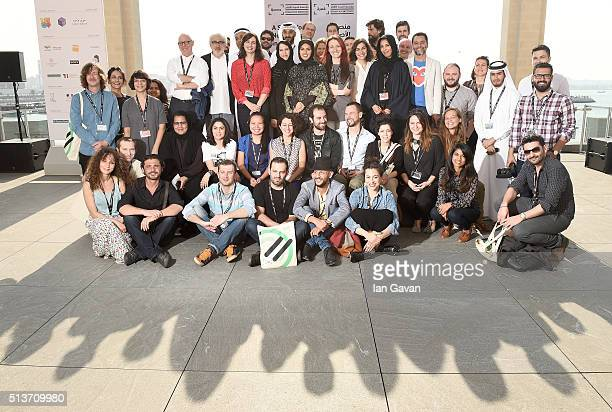 Qumra Master James Schamus Artistic Advisor Elia Suleiman Qumra Deputy Director Hanaa Issa and Doha Film Institute CEO Fatma Al Remaihi are joined by...