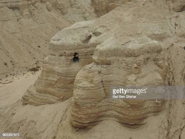 Qumran Dead Sea scroll cave