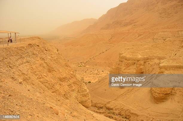 Qumran site of  discovery of Dead Sea scrolls