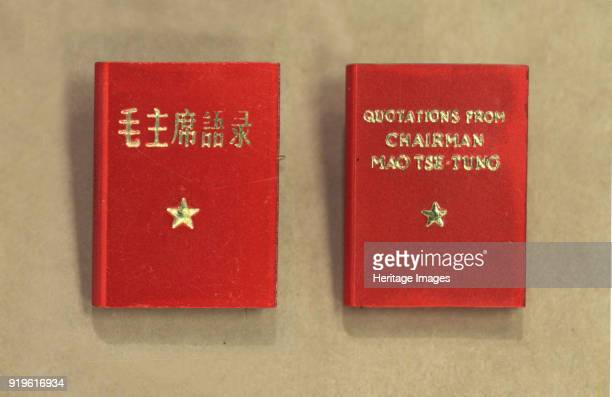 Quotations from Chairman Mao Tsetung 1966 Private Collection Strictly for Editorial use only