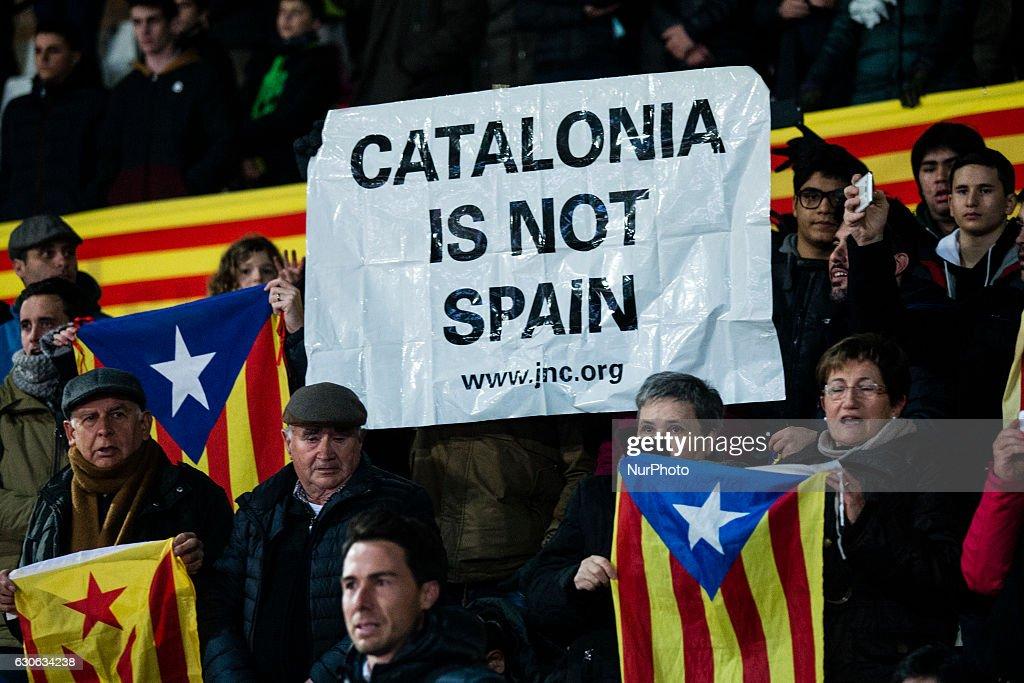 Catalonia vs Tunisia - Friendly match : Nachrichtenfoto