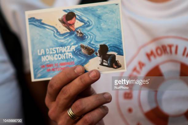 """""""Solo in cartolina"""" is the name of the campaign against deaths at sea, which began last August and has reached its end today. Today, in..."""