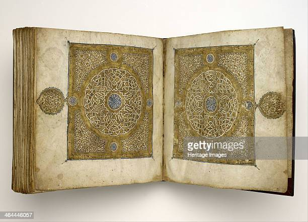 Qur'an Manuscript in Maghribi script 1318 Found in the collection of the Museum of Fine Arts Houston
