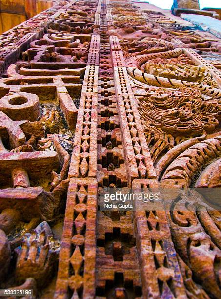 qutub minar - neha gupta stock pictures, royalty-free photos & images