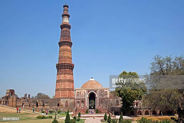 Qutub Minar / Qutb Minar UNESCO World Heritage Site and tallest minaret in Delhi India