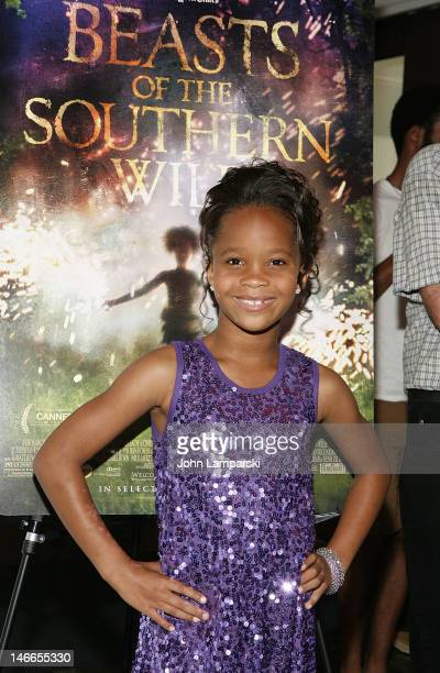 """Quvenzhane Wallis attends BAMcinemaFest 2012 screening Of """"Beasts Of The Southern Wild"""" at the Brooklyn Academy of Music on June 21, 2012 in the..."""