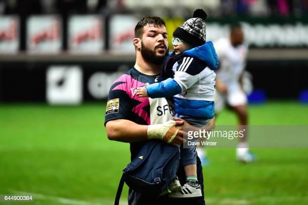 Rabah SLIMANI Stade Francais / Bordeaux Begles 10eme journee de Top 14 Photo Dave Winter / Icon Sport