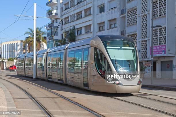 rabat salé 路面電車 - ラバト ストックフォトと画像