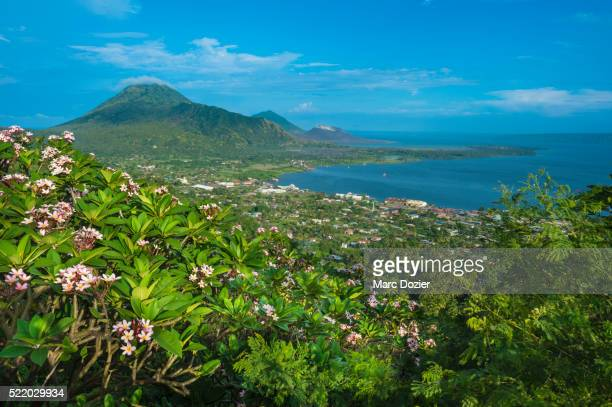 rabaul city in papua new guinea - papua new guinea stock pictures, royalty-free photos & images