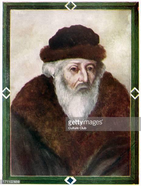 Rabbi Akiva Iger - portrait of the Talmudic scholar. .