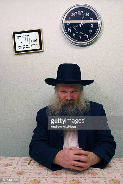 Rabbi Herschel Gluck of Walford Road synagogue Stamford Hill London He is a key figure in the local Hasidic Jewish community and chairman of the...