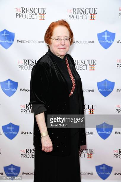 Rabbi Jo David attends Vision 2020 BALL By The Rescue Project / Haven Hands Inc on December 12 2018 in New York City