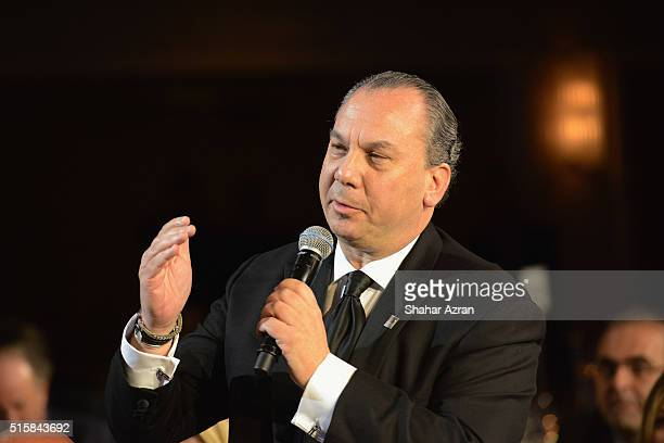 Rabbi Marc Schneier attends the 2016 Friends Of The Israel Defense Forces Gala at The Waldorf Astoria on March 15, 2016 in New York City.