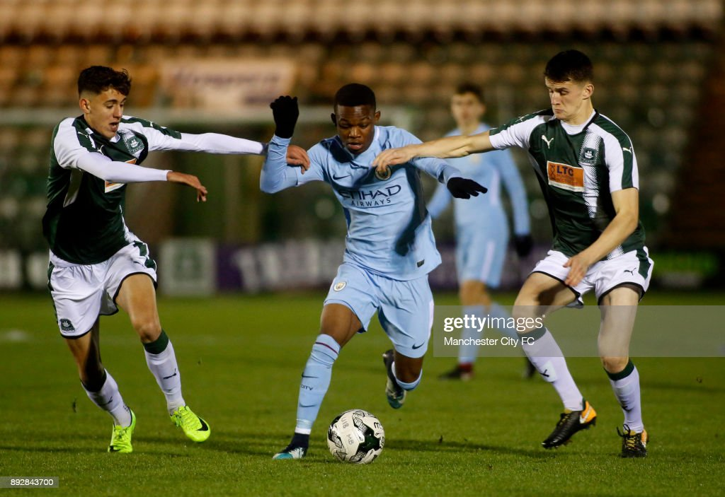 Plymouth Argyle v Manchester City: FA Youth Cup