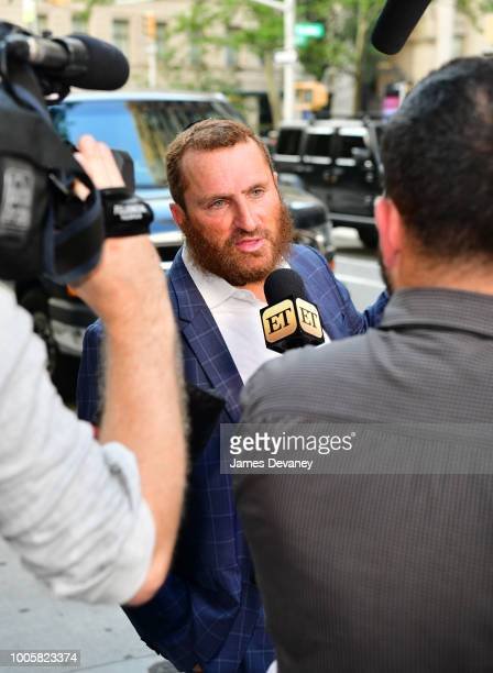 Rabbi Shmuley Boteach arrives at Stand Up NY on July 26, 2018 in New York City.
