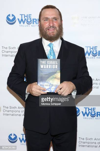 Rabbi Shmuley Boteach attends the 2018 World Values Network Champions of Jewish Values Awards Gala at The Plaza Hotel on March 8, 2018 in New York...