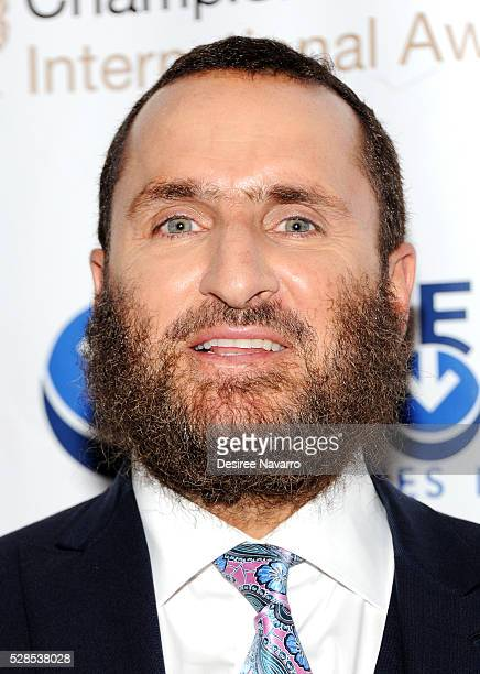 Rabbi Shmuley Boteach attends the 4th Annual Champions Of Jewish Values International Awards Gala at Marriott Marquis Broadway Ballroom on May 5,...