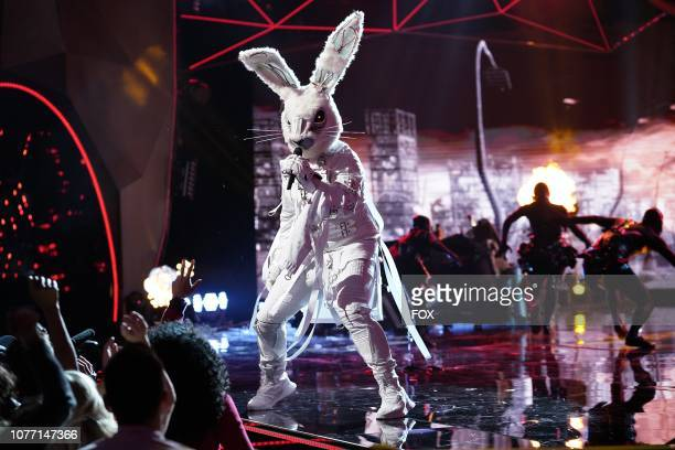 Rabbit in the New Masks on the Block episode of THE MASKED SINGER airing Wednesday Jan 9 on FOX