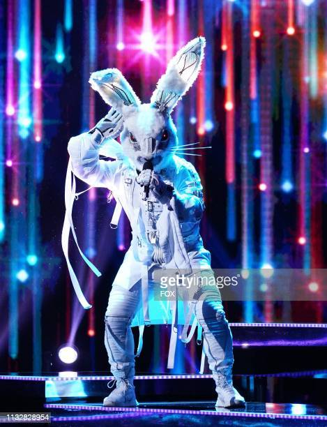 Rabbit in the Semi Finals Double Unmasking episode of THE MASKED SINGER airing Wednesday Feb 20 on FOX