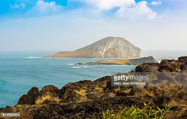 Rabbit Island off of Oahu, Hawaii