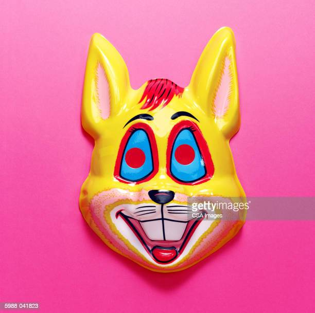 rabbit mask - rabbit mask stock pictures, royalty-free photos & images