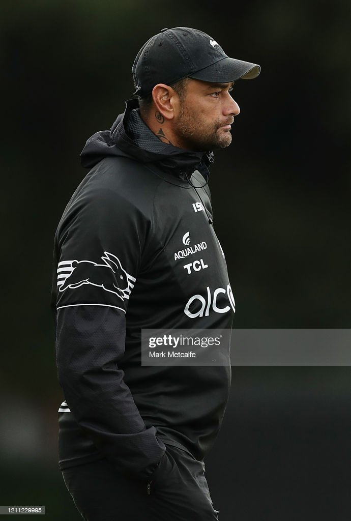 Rabbitohs Assistant Coach John Sutton Looks On During A South Sydney News Photo Getty Images