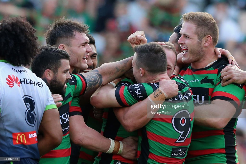 NRL Rd 7 - Rabbitohs v Raiders