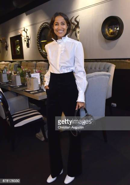 Rabea Schif attends the Grazia Future Dinner event at the restaurant Patio on November 23 2017 in Hamburg Germany