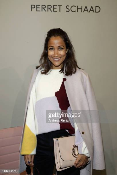 Rabea Schif attends the Perret Schaad presentation during 'Der Berliner Salon' AW 18/19 at Kronprinzenpalais on January 17 2018 in Berlin Germany