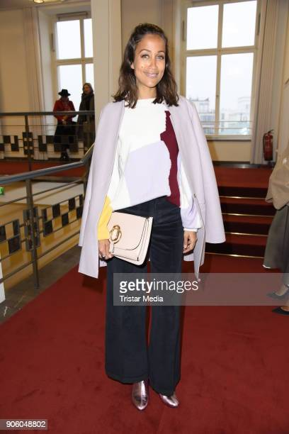 Rabea Schif during the Perret Schaad Presentation Der Berliner Salon AW 18/19 at Kronprinzenpalais on January 17 2018 in Berlin Germany