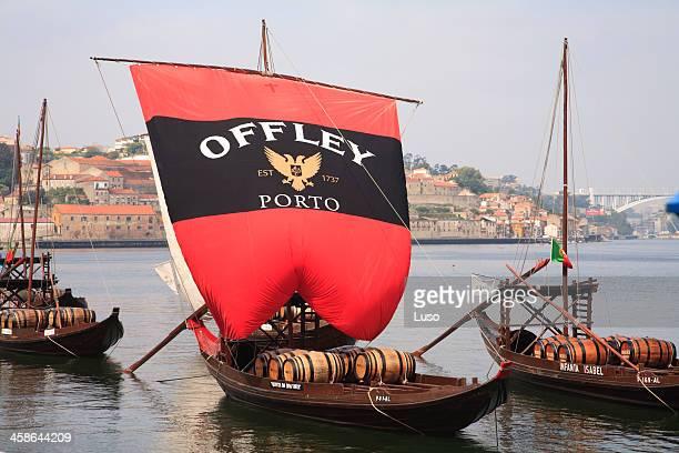 Rabelo Boat in Douro, Gaia (Oporto)
