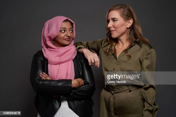 Rabia Chaudry and Amy Berg of HBO's 'The Case Against Adnan Syed' pose for a portrait during the 2019 Winter TCA at The Langham Huntington Pasadena...