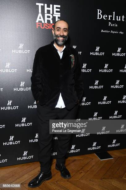 Rabih Kayrouz attends the Hublot and Berluti unveil of two new watches at Hotel D'Evreux on December 4 2017 in Paris France